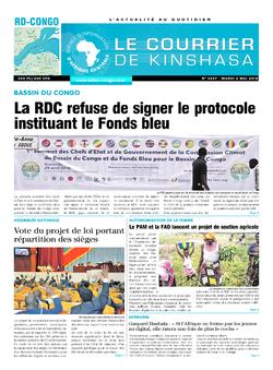 Les Dépêches de Brazzaville : Édition le courrier de kinshasa du 02 mai 2018