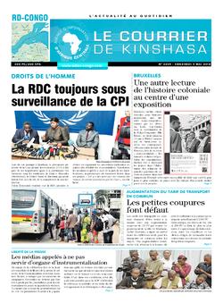 Les Dépêches de Brazzaville : Édition le courrier de kinshasa du 04 mai 2018