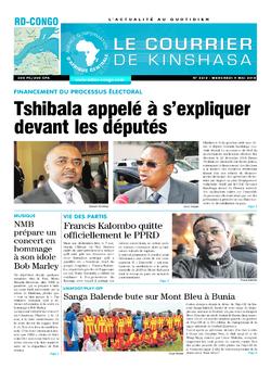 Les Dépêches de Brazzaville : Édition brazzaville du 09 mai 2018