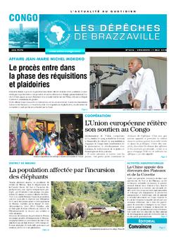 Les Dépêches de Brazzaville : Édition brazzaville du 11 mai 2018