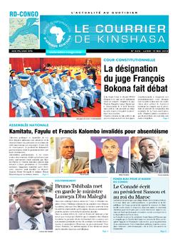 Les Dépêches de Brazzaville : Édition brazzaville du 14 mai 2018