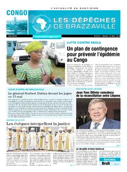 Les Dépêches de Brazzaville : Édition brazzaville du 15 mai 2018