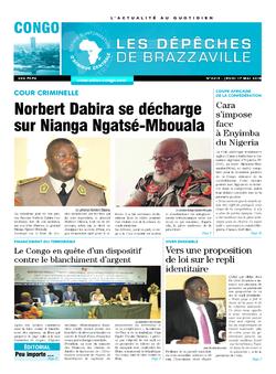 Les Dépêches de Brazzaville : Édition brazzaville du 17 mai 2018