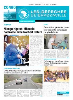 Les Dépêches de Brazzaville : Édition brazzaville du 18 mai 2018