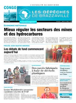 Les Dépêches de Brazzaville : Édition brazzaville du 24 mai 2018
