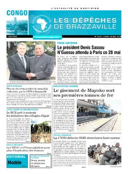 Les Dépêches de Brazzaville : Édition brazzaville du 28 mai 2018