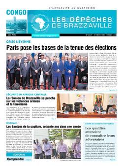 Les Dépêches de Brazzaville : Édition brazzaville du 30 mai 2018