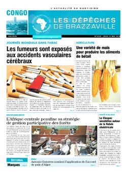 Les Dépêches de Brazzaville : Édition brazzaville du 31 mai 2018