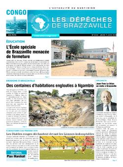 Les Dépêches de Brazzaville : Édition brazzaville du 07 juin 2018