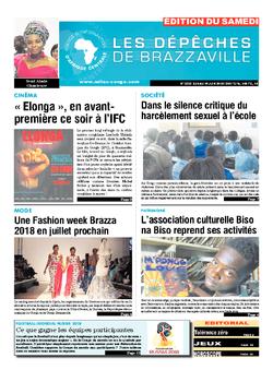 Les Dépêches de Brazzaville : Édition du 6e jour du 09 juin 2018