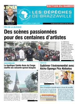 Les Dépêches de Brazzaville : Édition du 6e jour du 23 juin 2018