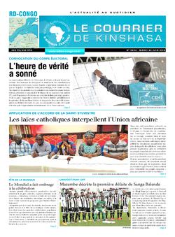 Les Dépêches de Brazzaville : Édition brazzaville du 26 juin 2018