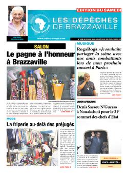 Les Dépêches de Brazzaville : Édition du 6e jour du 30 juin 2018