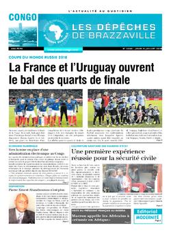 Les Dépêches de Brazzaville : Édition brazzaville du 05 juillet 2018