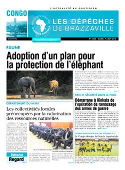 Les Dépêches de Brazzaville : Édition brazzaville du 07 août 2018