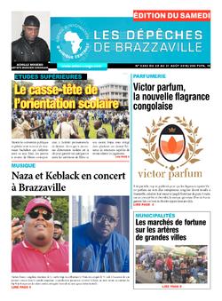 Les Dépêches de Brazzaville : Édition du 6e jour du 25 août 2018