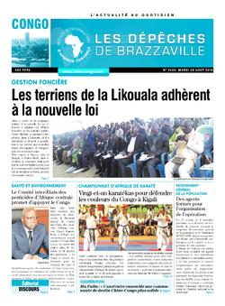 Les Dépêches de Brazzaville : Édition brazzaville du 28 août 2018