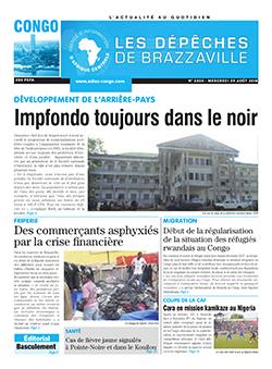 Les Dépêches de Brazzaville : Édition brazzaville du 29 août 2018
