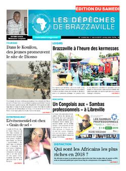 Les Dépêches de Brazzaville : Édition du 6e jour du 01 septembre 2018