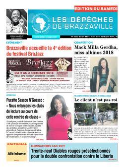 Les Dépêches de Brazzaville : Édition du 6e jour du 29 septembre 2018