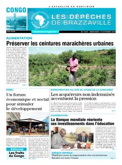 Les Dépêches de Brazzaville : Édition brazzaville du 17 octobre 2018