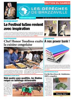 Les Dépêches de Brazzaville : Édition du 6e jour du 20 octobre 2018