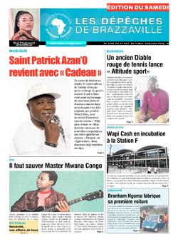 Les Dépêches de Brazzaville : Édition du 6e jour du 27 octobre 2018