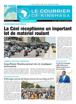 Les Dépêches de Brazzaville : Édition brazzaville du 30 octobre 2018
