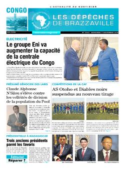 Les Dépêches de Brazzaville : Édition brazzaville du 07 novembre 2018