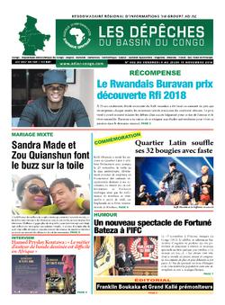 Les Dépêches de Brazzaville : Édition du 6e jour du 10 novembre 2018