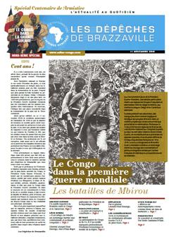 Les Dépèches de Brazzaville : Edition spéciale du 11 novembre 2018