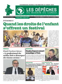 Les Dépêches de Brazzaville : Édition du 6e jour du 24 novembre 2018