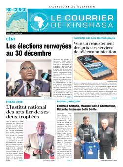 Les Dépêches de Brazzaville : Édition brazzaville du 21 décembre 2018