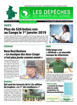 Les Dépêches de Brazzaville : Édition du 6e jour du 05 janvier 2019