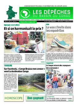 Les Dépêches de Brazzaville : Édition du 6e jour du 12 janvier 2019