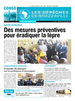 Les Dépêches de Brazzaville : Édition brazzaville du 29 janvier 2019