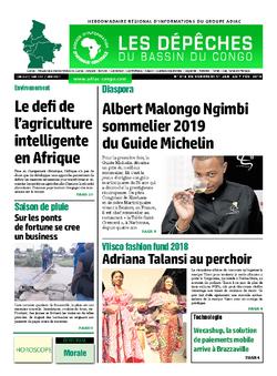 Les Dépêches de Brazzaville : Édition du 6e jour du 02 février 2019