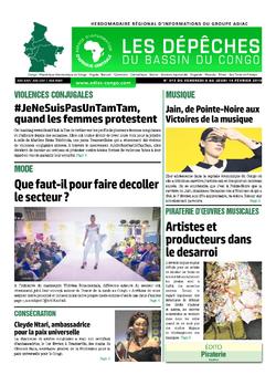 Les Dépêches de Brazzaville : Édition du 6e jour du 09 février 2019