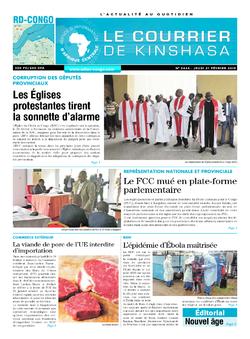 Les Dépêches de Brazzaville : Édition brazzaville du 21 février 2019