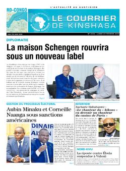 Les Dépêches de Brazzaville : Édition brazzaville du 25 février 2019