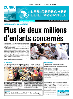 Les Dépêches de Brazzaville : Édition brazzaville du 01 mars 2019