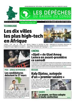 Les Dépêches de Brazzaville : Édition du 6e jour du 02 mars 2019