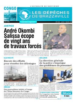 Les Dépêches de Brazzaville : Édition brazzaville du 07 mars 2019