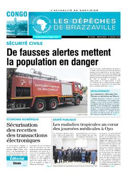 Les Dépêches de Brazzaville : Édition brazzaville du 13 mars 2019