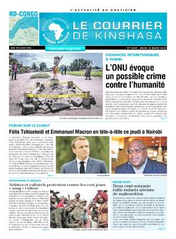 Les Dépêches de Brazzaville : Édition brazzaville du 14 mars 2019