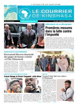 Les Dépêches de Brazzaville : Édition brazzaville du 15 mars 2019