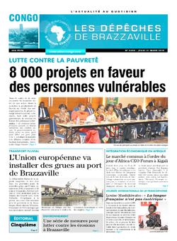 Les Dépêches de Brazzaville : Édition brazzaville du 21 mars 2019