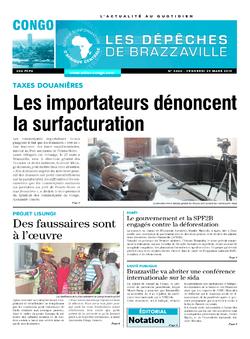 Les Dépêches de Brazzaville : Édition brazzaville du 29 mars 2019