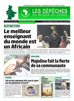 Les Dépêches de Brazzaville : Édition du 6e jour du 30 mars 2019