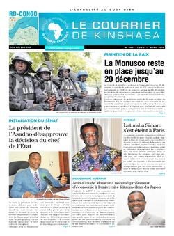 Les Dépêches de Brazzaville : Édition brazzaville du 01 avril 2019